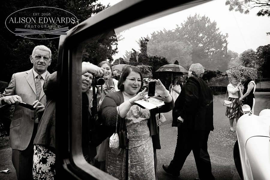 Wedding at Stoke Rochford Hall of Meriel and Donald