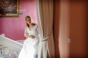 Wedding at Holme Pierrepont Hall of Shelley and Martin