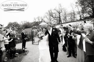 Wedding at The Walled Gardens Beeston of Kirsty and Mark