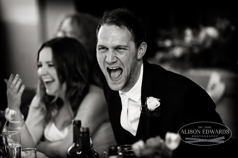"Funny wedding speeches – ""Hey, remember this?"""