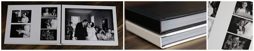 wedding albums by Alison Edwards Photography