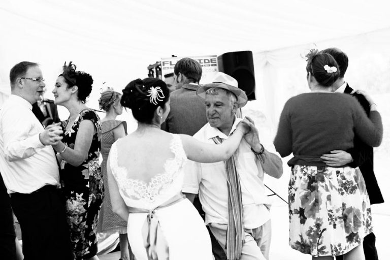 dad dancing with bride at wedding