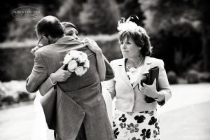 Mother father and bride at Hambleton Hall – Hey remember this?