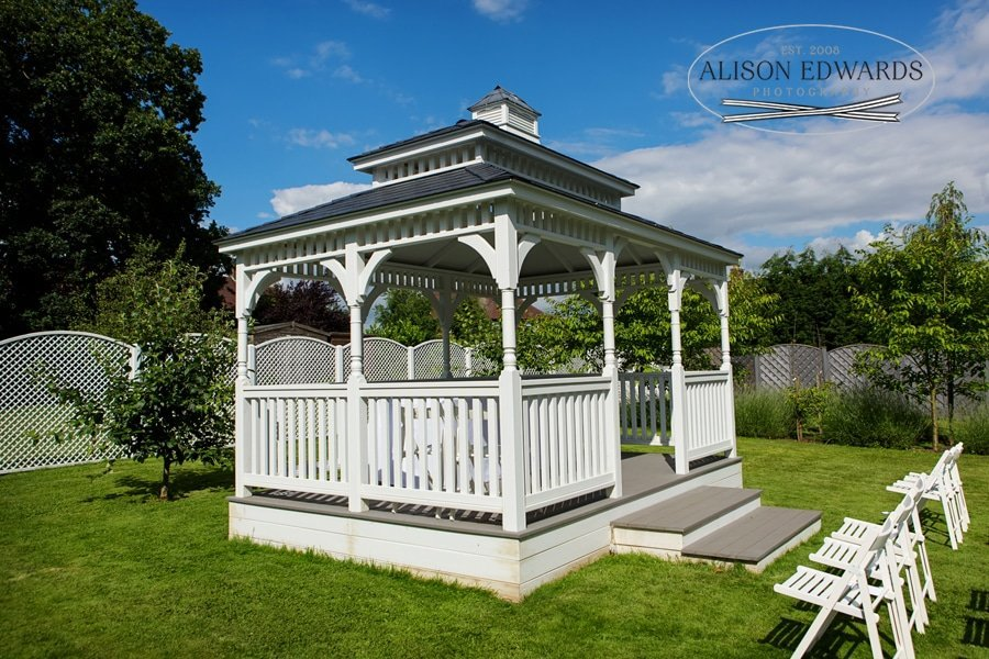bandstand at old vicarage boutique hotel southwell