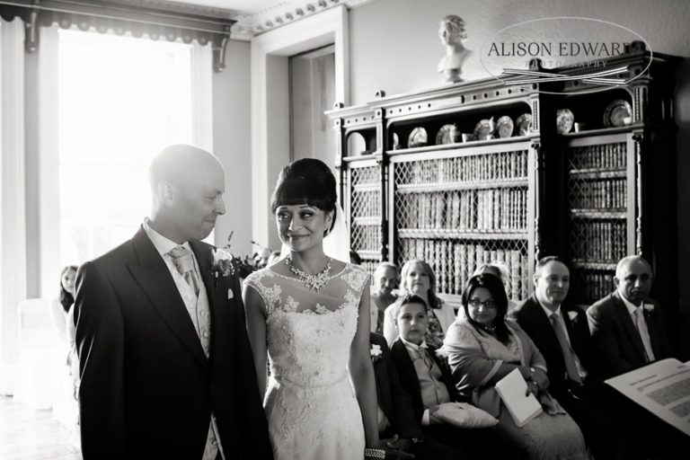 """Bride and groom at Prestwold Hall – """"Hey, remember this?"""""""