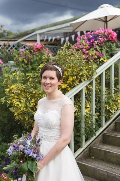 bride at Floral Media