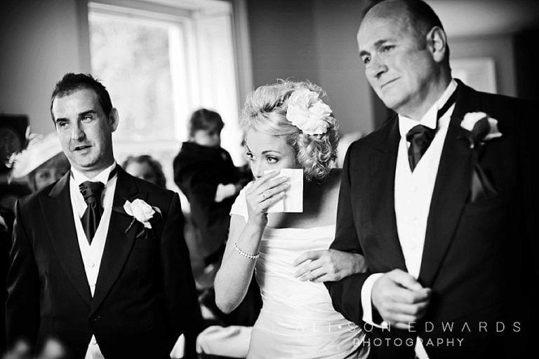 A Shottle Hall Wedding – Bride's Tears