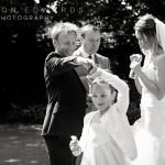 "Groom and daughter dancing at wedding – ""Hey, remember this?"""