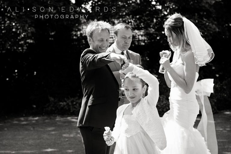 """Groom and daughter dancing at wedding – """"Hey, remember this?"""""""