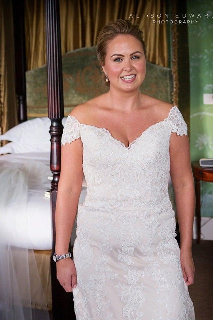 bride at stubton hall