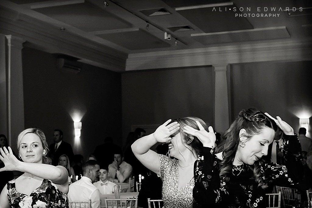 women dancing at stubton hall newark