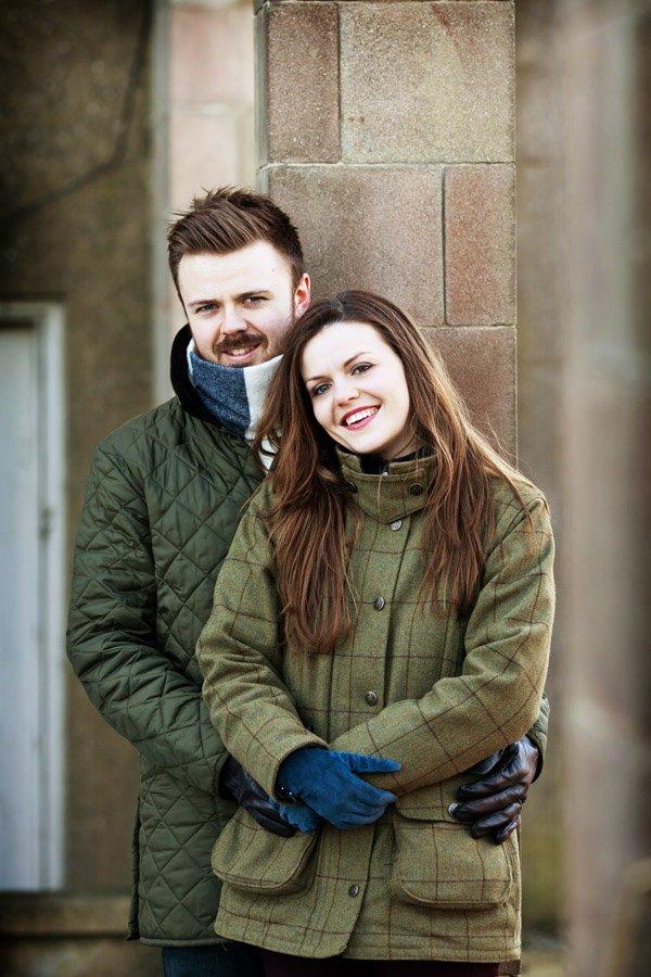 engagement shoot at elvaston castle