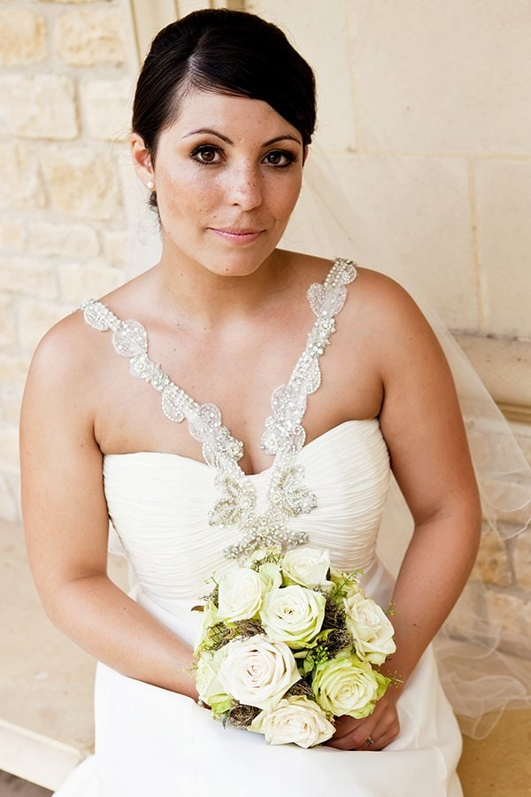 bridal portrait at hambleton hall nottingham