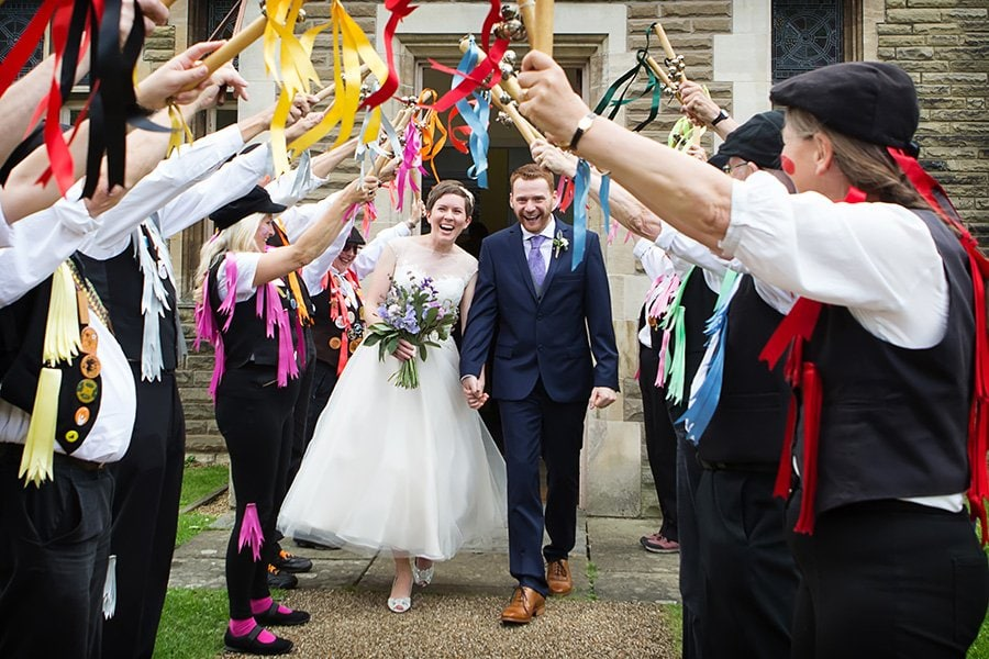 wedding photographer review of couple married at the gilstrap newark