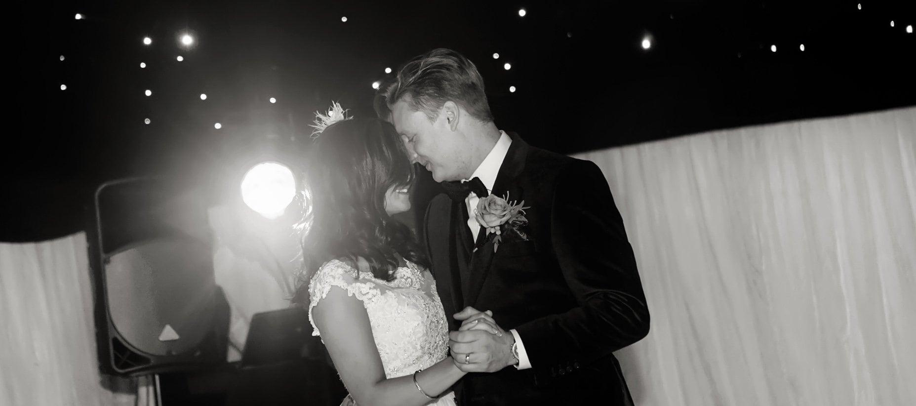 bride and groom dancing at nottingham wedding