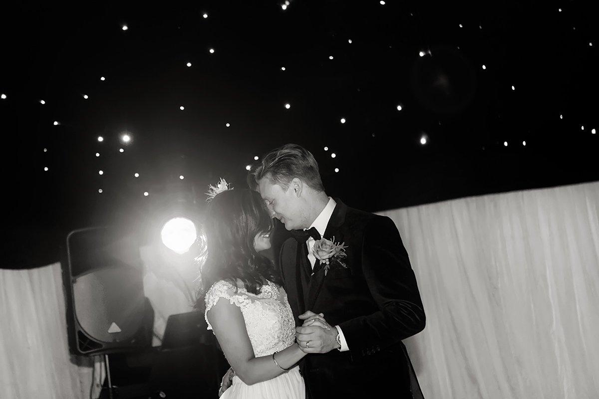 bride and groom dancing wedding nottingham