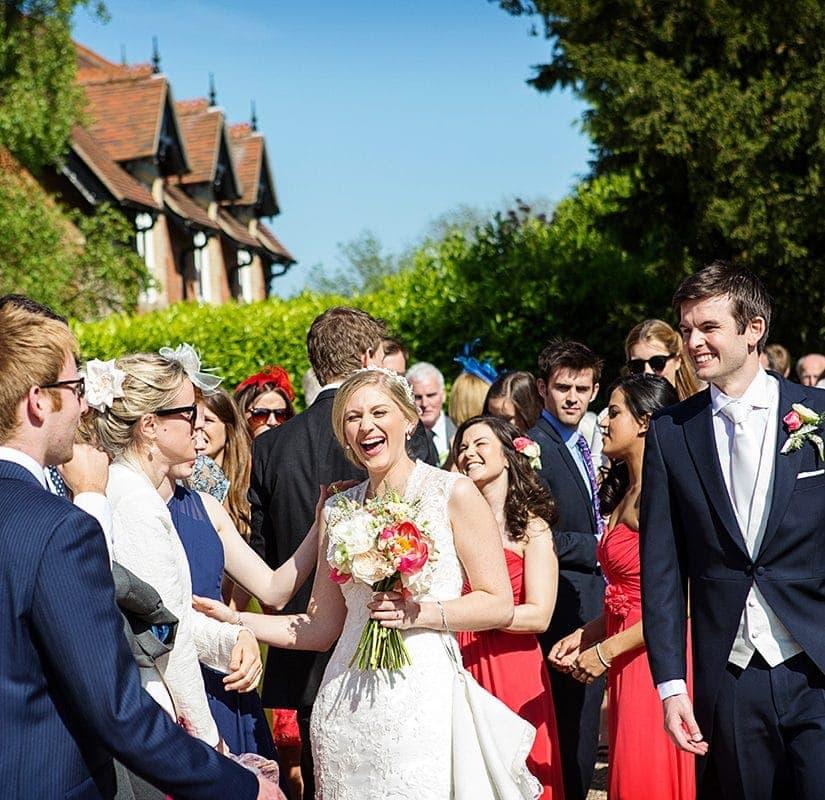 summer church wedding nottinghamshire